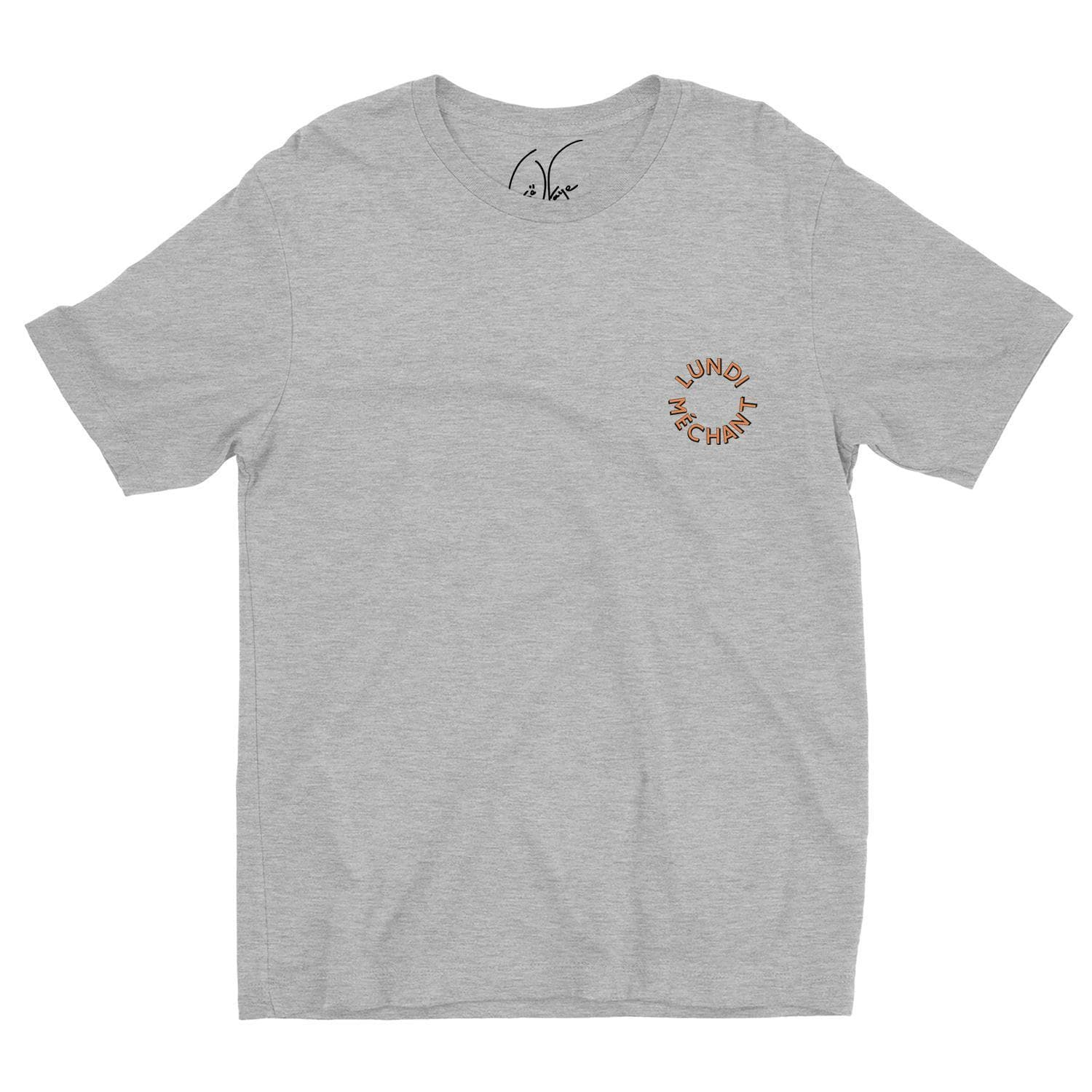 T-SHIRT LUNDI MECHANT CERCLE