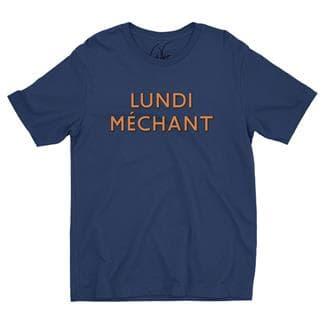 T-SHIRT LUNDI MECHANT